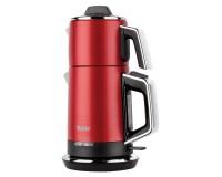 Fakir Temper 2200 W Çelik Çay Makinesi Kırmızı