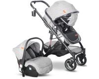 Babyhope BH-3009 Golf Travel Sistem Bebek Arabası Gri