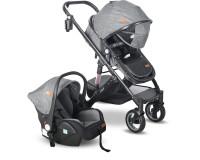 Babyhope BH-3009 Golf Travel Sistem Bebek Arabası Siyah