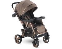 Babyhope BH-3056 Space Çift Yönlü Bebek Arabası Kahve