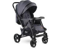 Babyhope BH-3056 Space Çift Yönlü Bebek Arabası Siyah