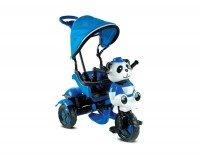 BabyHope 127 Little Panda 3 Tekerli Çocuk Bisikleti Mavi