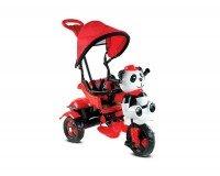 BabyHope 127 Little Panda 3 Tekerli Çocuk Bisikleti Kırmızı Siyah
