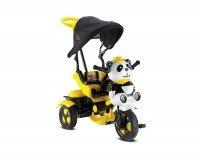 BabyHope 127 Little Panda 3 Tekerli Çocuk Bisikleti Sarı