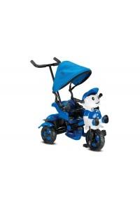 BabyHope 125 Yupi Panda 3 Tekerli Çocuk Bisikleti Mavi