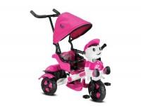 BabyHope 125 Yupi Panda 3 Tekerli Çocuk Bisikleti Pembe