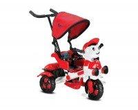 BabyHope 125 Yupi Panda 3 Tekerli Çocuk Bisikleti Kırmızı Beyaz